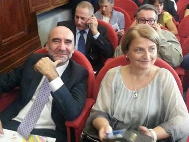 Carmen Guarino con Luigi Bobba