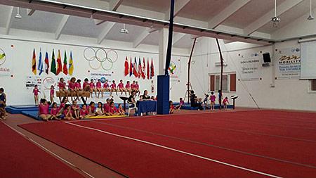 Campionati provinciali ginnastica artistica 2015