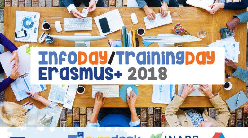 Progettazione europea:  Numerose le domande di iscrizione al trainingday –erasmus +   istruzione e formazione professionale