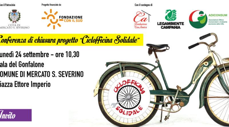 Conferenza stampa presentazione risultati della Ciclofficina Solidale