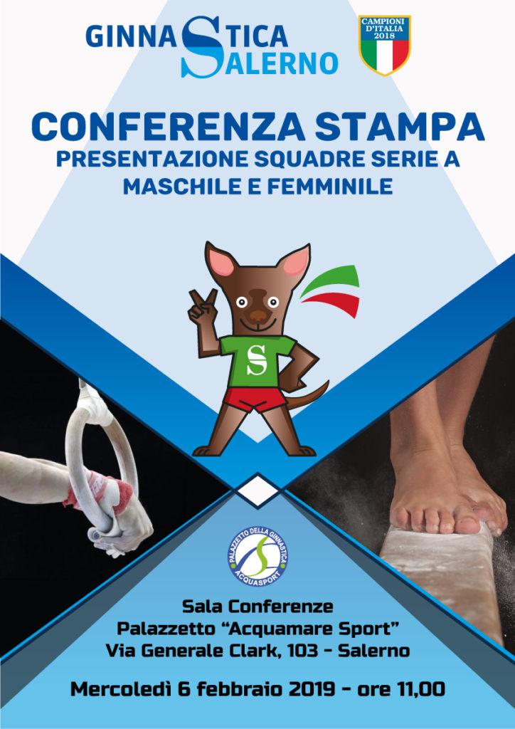 Al Palazzetto Acquasport, Ginnastica Salerno  presenta le squadre per il campionato 2019