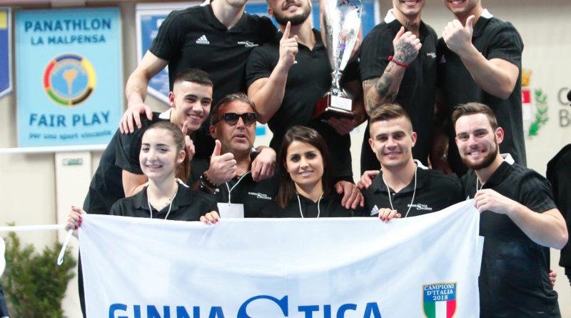 Ginnastica Salerno trionfa nella prima prova del Campionato Italiano di Ginnastica Artistica. 1