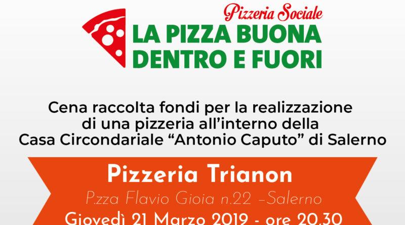 """Progetto """"La pizza buona dentro e fuori"""" scendono in campo ristoranti e pizzerie per la raccolta fondi"""