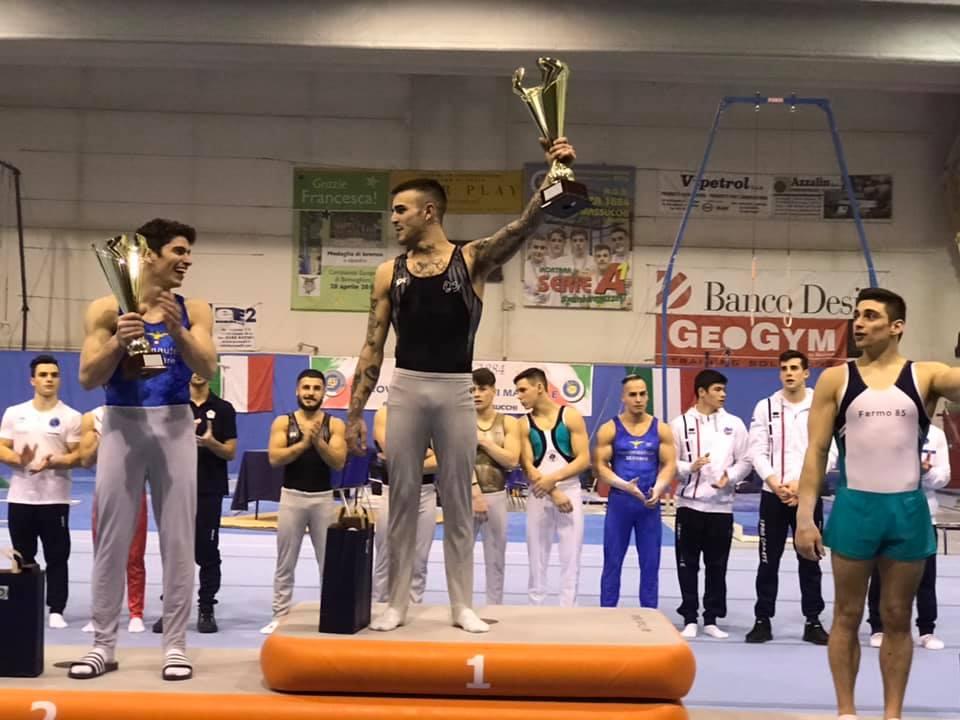 Ginnastica Salerno sul podio della prima tappa della Coppa Campioni