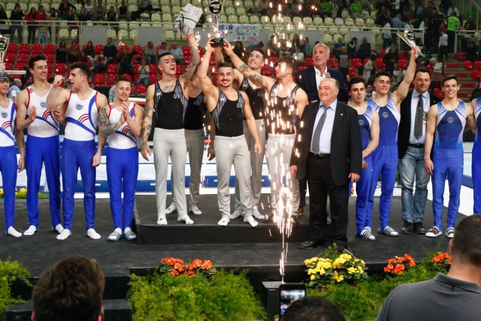 Campionato Nazionale di Ginnastica Artistica. Le squadre di Ginnastica Salerno prime sul podio del Kioene Arena di Padova.