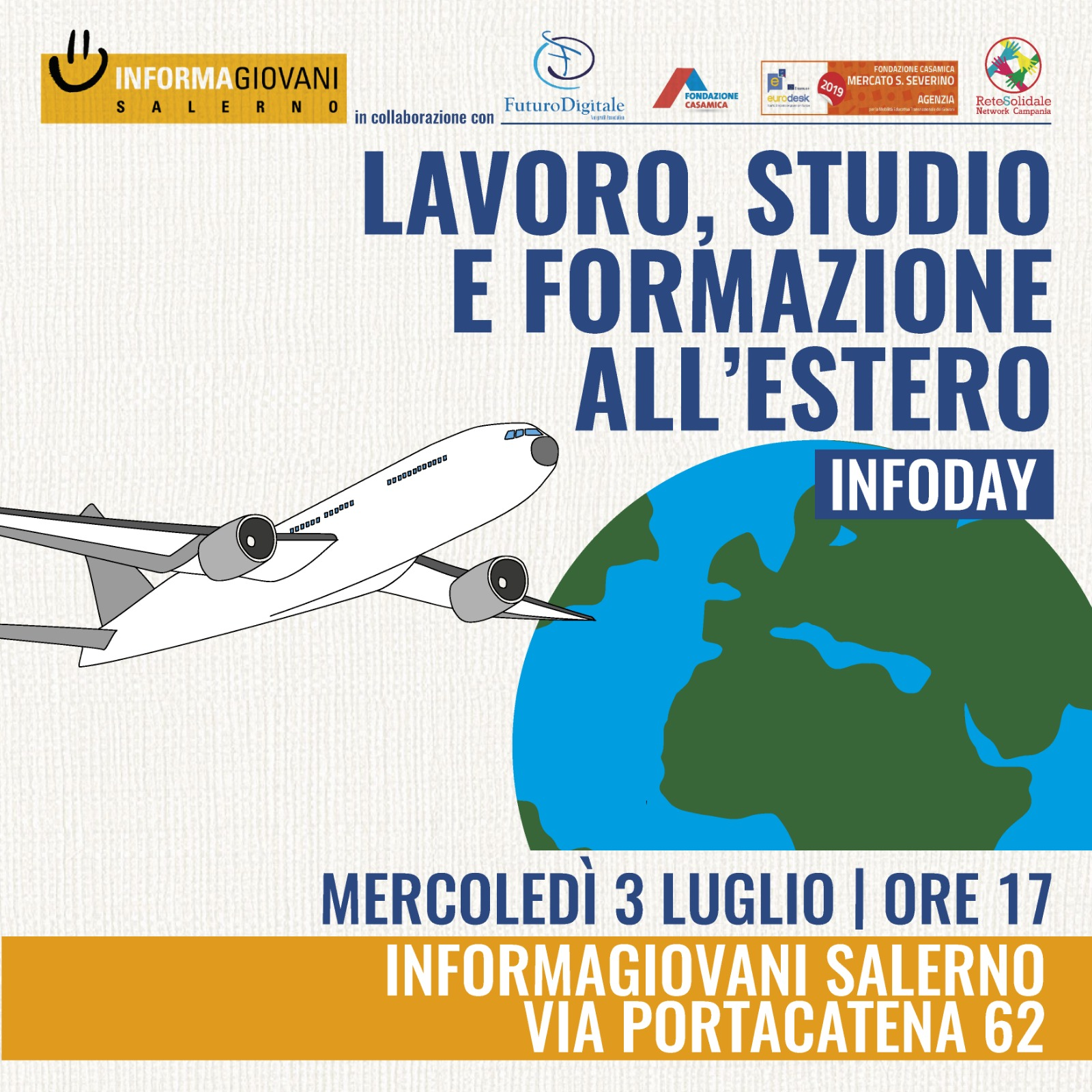 """InfoDay """"Lavoro, studio e formazione all'estero"""" 1"""