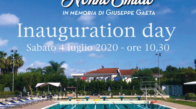 """Piscine """"Nonno Emilio"""", inauguration day"""