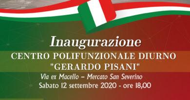 """Inaugurazione co-housing """"A casa di Francesca e Giovanna"""". Venerdì 4 settembre 2020 a Pontecagnano Faiano"""