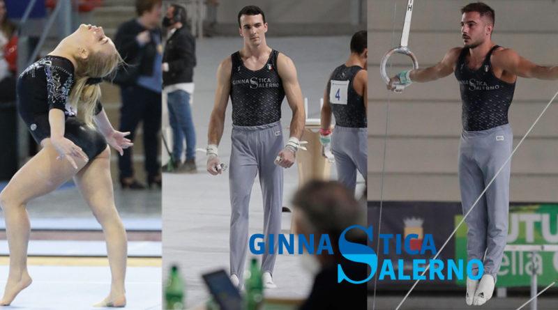 Gli atleti di Ginnastica Salerno pronti per gli Assoluti 2020