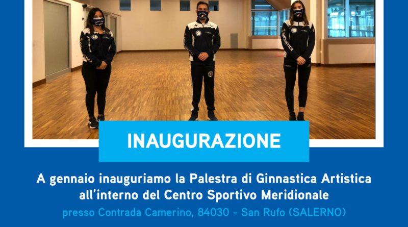 Inaugurazione nuova palestra di Ginnastica Artistica presso Centro Sportivo Meridionale