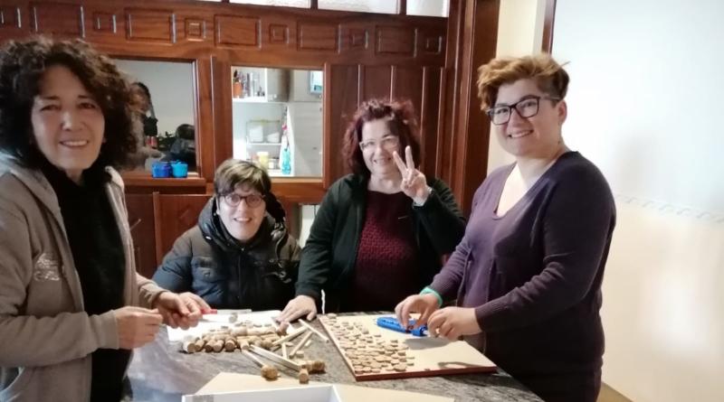 Laboratorio di riciclo presso la Comunità Sociale l'Arca
