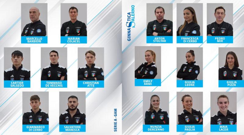 Presentazione squadre A1 - Ginnastica Salerno 2