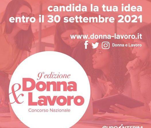 Concorso nazionale Eurointerim Donna e Lavoro 2021