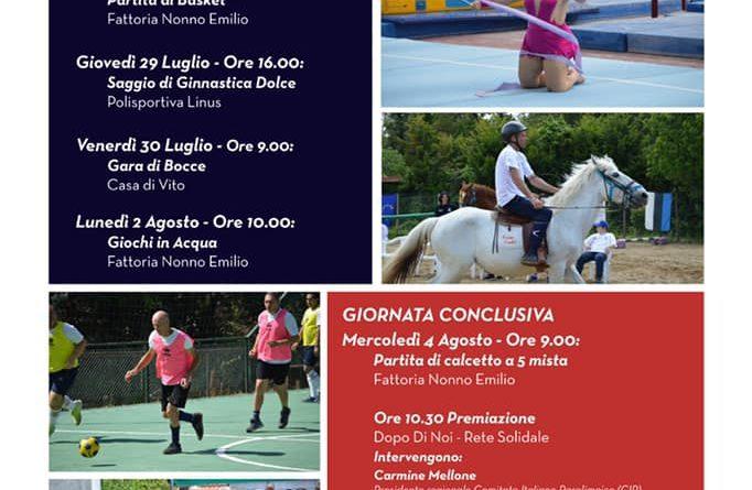 "1° Giornata ""Settimana Sport e Disabilità"""