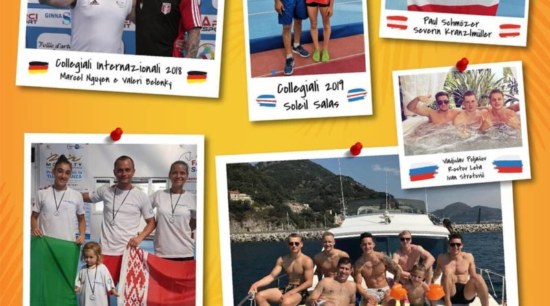 Collegiali Internazionali - i migliori ginnasti del mondo