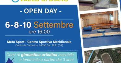 Ginnastica Vallo di Diano is coming!!!