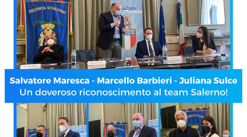 Premiazione Team Salerno