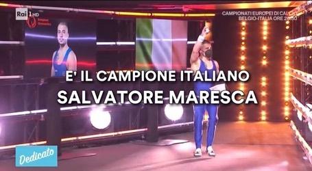 "Salvatore Maresca ospite a ""Dedicato"""